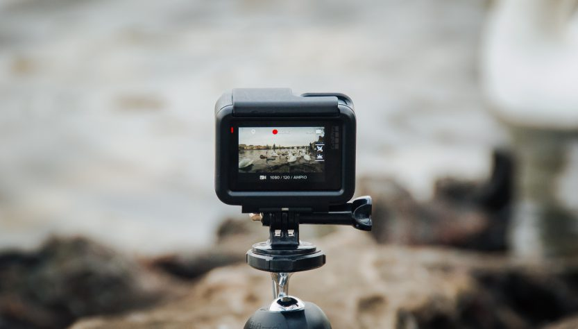 black action camera 833x474 - 5 Video Editing Tips that All Video Creators Need to Know