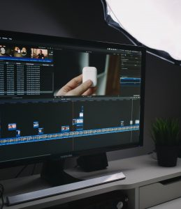compute monitor video editing 259x300 - Video Editor Job Overview — What to Expect?