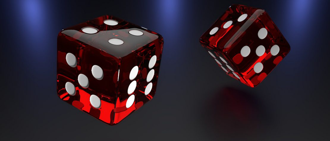 dices 1110x474 - The Technology Behind Live Casino Streaming