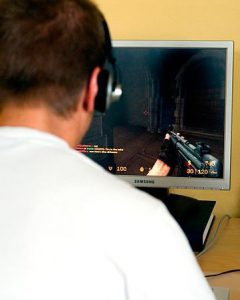 playing video game 240x300 - playing video game
