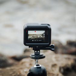 black action camera 251x250 - 5 Video Editing Tips that All Video Creators Need to Know
