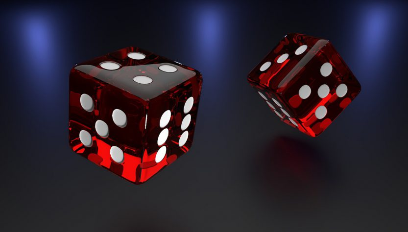 dices 833x474 - The Technology Behind Live Casino Streaming