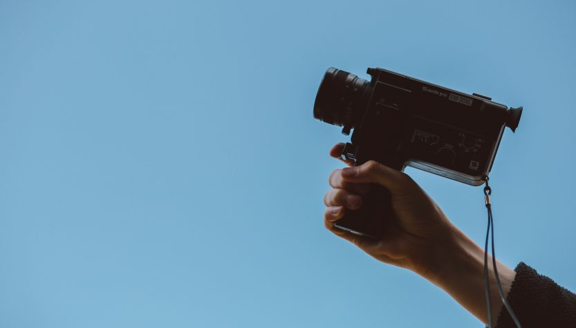 video camera 833x474 - What Gear You Need to Buy to Make Professional Videos